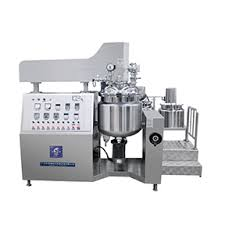 RHJ-A Vacuum emulsifying mixer (Bottom homogenizer type);