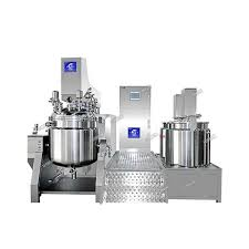 RHJ-E Spiral belt mixing upper homogeneous emulsifying machine